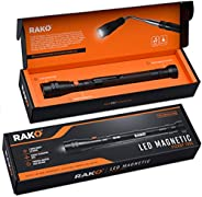 RAK Magnetic Pickup Tool with LED Lights - Telescoping Magnet Pick Up Gadget Tool