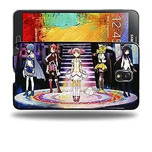 Case88 Designs Puella Magi Madoka Magica Madoka, Homura, Sayaka, Mami, Kyoko & Kyubey Protective Snap-on Hard Back Case Cover for Samsung Galaxy Note 3