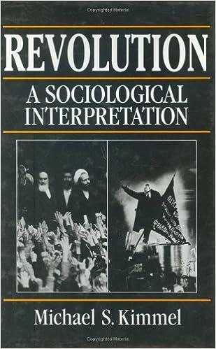 Revolution, a Sociological Interpretation