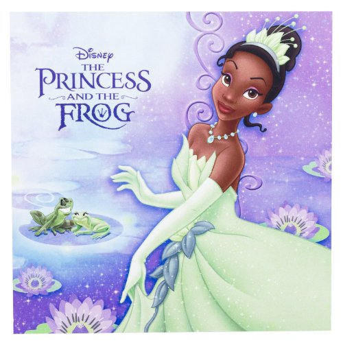 Disney Princess and the Frog Lunch Napkins (16) by Hallmark