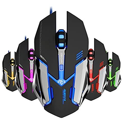 FOME E-BLUE MAZER M639 Wired Gaming Mouse (Black)+ FOME GIFT (Gaming Mouse Eblue)