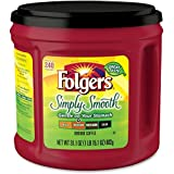 Folgers Coffee Ground Simply Smooth, 6-Pack, 31.1-Ounce Canisters