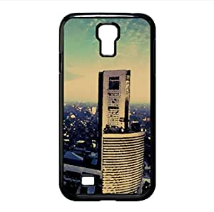 City 14 Watercolor style Cover Samsung Galaxy S4 I9500 Case