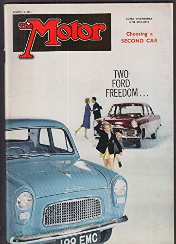 The MOTOR Lotus Junior Rover 80 road tests + Mercedes Benz disc brakes 3/1 1961