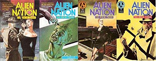 ALIEN NATION SKIN TRADE (1991 AD) 1-4 COMPLETE!