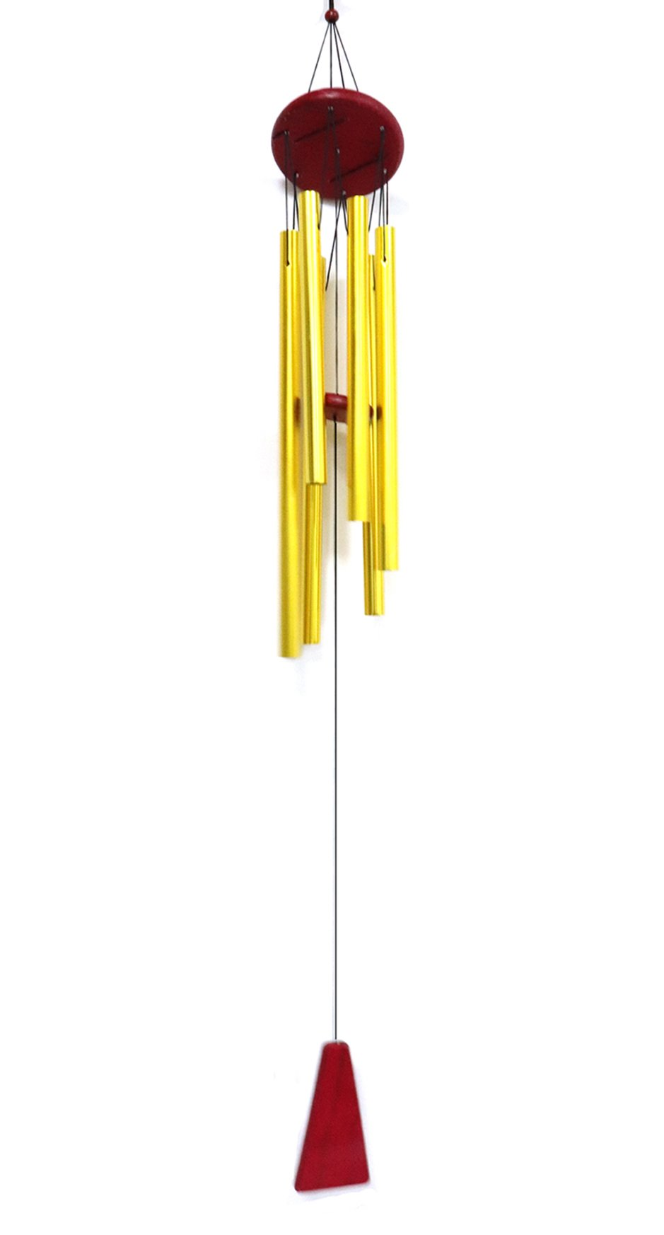 Yootop Amazing Grace Golden Outdoor and Indoor Wind bell/Wind chimes Beautiful Decor for Garden Balcony (Gold)