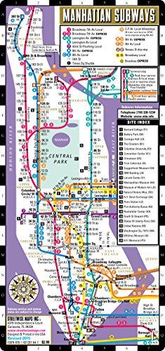 Streetwise Manhattan Bus Subway Map Laminated Metro Map Of - Bus map abu dhabi