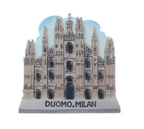 Milan Cathederal Church Duomo Italy Italian TOY Fridge Magnet