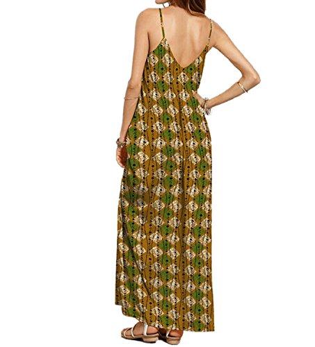 VLUNT - Vestido - Sin mangas - para mujer Multicolor2