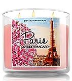 Bath & Body Works Home 3-Wick Candle Paris Lavender Macaron