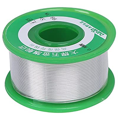 DAHAN Lead Free Solder Wire (Sn99.3 Cu0.7) with Rosin Core for Jewelry Electronics Electrical Repair Soldering and DIYs