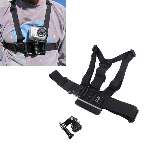 IMAGE Adjustable Elastic Body Chest Strap Mount Belt Perfect for GoPro HD Hero 2 Hero 3 by IMAGE