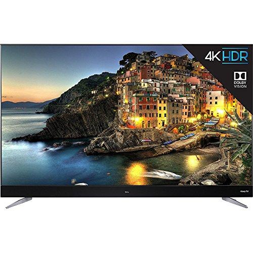 TCL 55C807 55-Inch 4K Ultra HD Roku Smart LED TV (2017 Model) (Certified Refurbished)