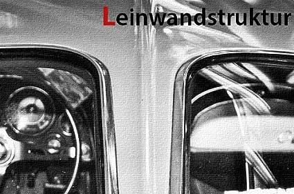 Leinwand Bild Chevrolet Corvette C2 Split Back Window Shark I Sting Ray Chrom
