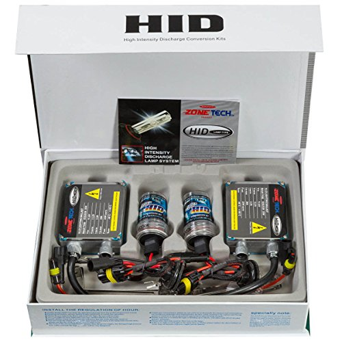 Zone Tech LI0008 H11 HID Xenon Premium Headlight Conversion Kit (H11 6000K)