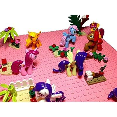 DunnsToys Little Pony Build Block Figures Set: Toys & Games