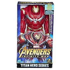 AVENGERS Marvel Infinity War Titan Hero Series Hulk Buster with Power FX Port Figure