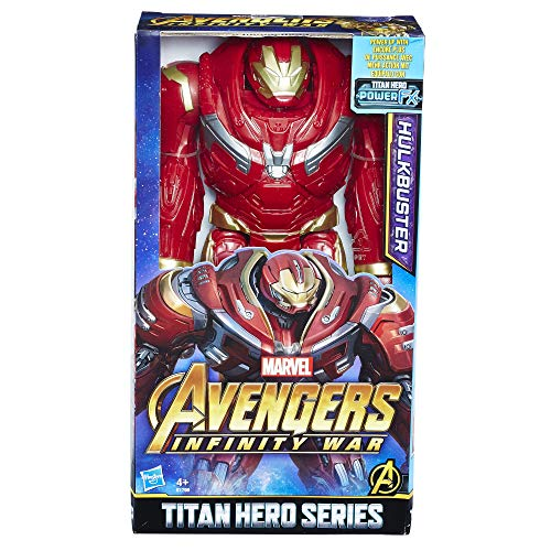 Avengers Marvel Infinity War Titan Hero Series Hulk Buster with Power FX Port Figure -