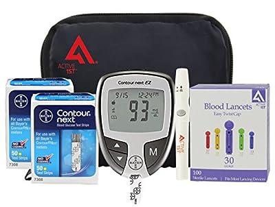 Bayer Contour NEXT Diabetic Testing Starter Kit