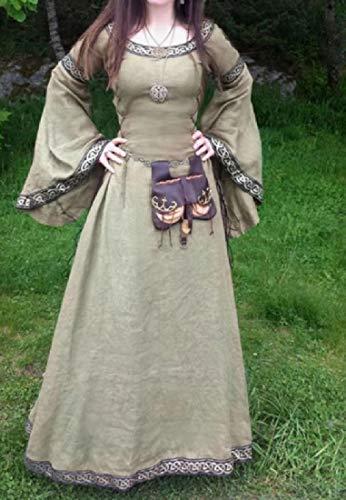 Howme Costume Féminin Vogue Robe De Soirée Maxi Halloween Rococo Médiévale Comme Image