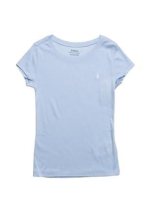 Ralph Lauren Polo Damen Rundhals Shirt T-Shirt Hellblau Größe XS ... 3a3df98fea