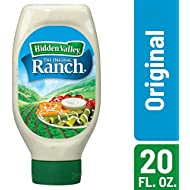 Hidden Valley Easy Squeeze Original Ranch Salad Dressing & Topping, Gluten Free - 20 Ounce Bottle