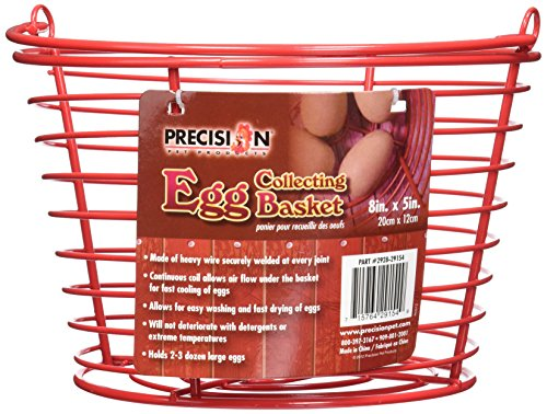 Precision Pet Egg Collecting Basket, - Egg Basket Wire