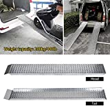 """aHUMANs 64"""" Heavy Duty Ramps for Wheelchairs"""