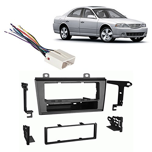 Fits Lincoln LS Series 04-06 Single DIN Stereo Harness Radio Install Dash Kit