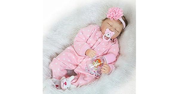 Amazon.com: Muñecas realistas para bebé, 21.7 in, bonitas ...
