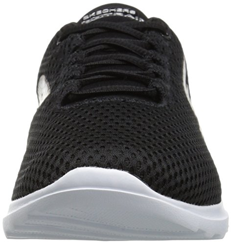 Skechers Go Train-Hype, Chaussures de Running Femme Noir (Black/white)