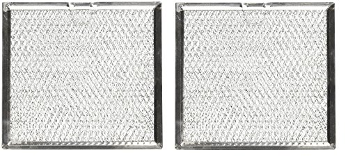(2 PACK AP5306190 Samsung Aluminum Mesh Grease Filter Replacements)