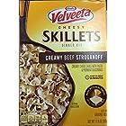 Velveeta Cheesy Skillets Dinner Kit Box, Creamy Beef Stroganoff, 11.6 oz