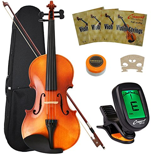 Crescent 4/4 Full-Size Student Violin Starter Kit
