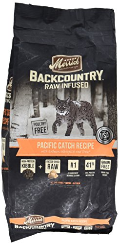 Merrick Backcountry Pacific Catch Recipe Dry Cat Food, 6 lb.