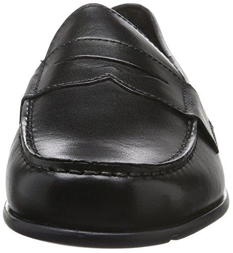 Lite Negro Mocasines Para Classic Penny Rockport Hombre Loafer qwgCxP