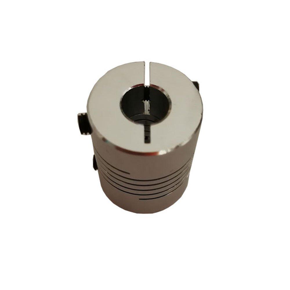 4pcs//lot 5mmx6mm Dia 20mm x Length 25mm Aluminum Alloy Shaft Coupling Flexible Coupler Motor Connector