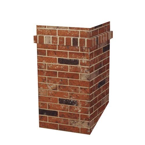 R-CO PRODUCTS Square Chimney Surround-23 1/2
