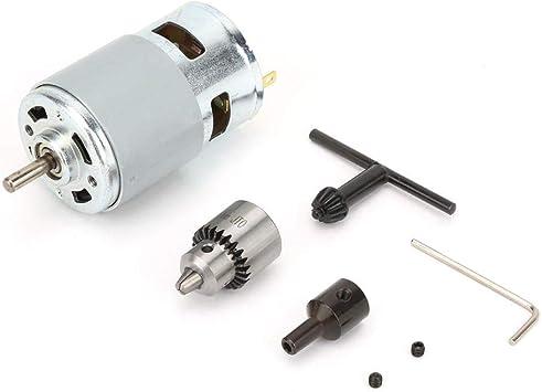 775 Motor DC 12-30V, 0.3-4MM Motor Eléctrico de Micromotor de Alta ...