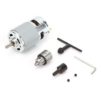 12-30V Micro Motor Set 775 Eje del cojinete de bolas del motor ...