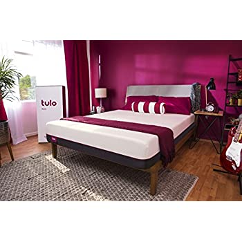 Mattress by tulo, Pick your Comfort Level, Firm King Size, Bed in a Box, Great for Sleep and Optimal Body Support