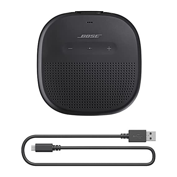 Bose SoundLink Micro Bluetooth speaker 3 Crisp, balanced sound Durable silicone strap Rugged, waterproof design (IPX7)
