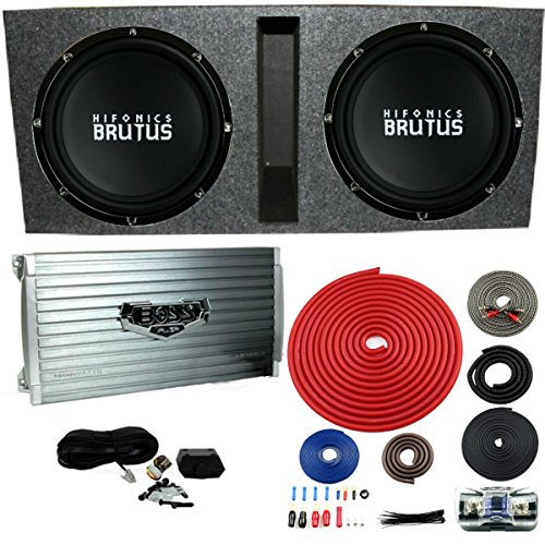 15 inch subwoofer amp package - 3