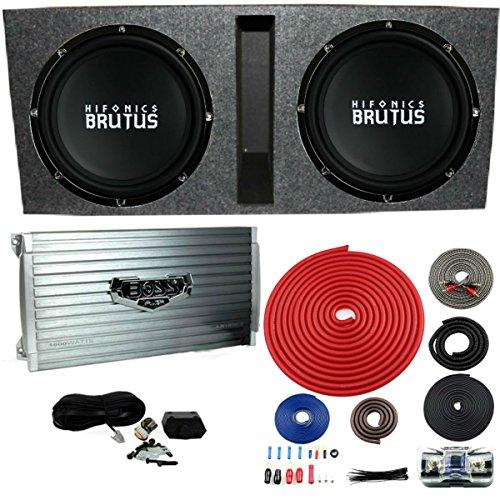 Hifonics BRZ15D4 Vented Bass Package - 2) 15