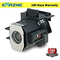 Emazne ELPLP35/V13H010L35 Projector Replacement Compatible Lamp With Housing For Epson CINEMA 550 Epson V11H223020MB Epson EMP TW520 Epson EMP TW600 Epson EMP TW620 Epson EMP TW680 - 180 Days Warranty