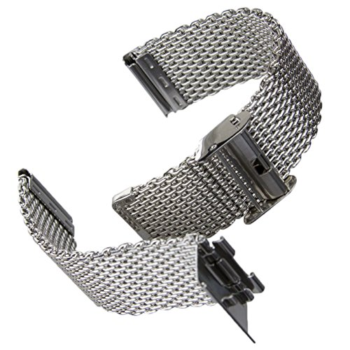 Polished Stainless Steel Watch - 5