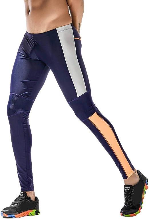 SKYSPER Pantaloncini a Compressione Leggings Sportive Uomo Asciugatura Rapida per Corsa Fitness Palestra Nero//Grigio//Blu