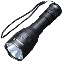 Revtronic 800 Lumens Rechargeable Flashlight, Cree XM-L2 LED Ultra Powerful Flashlights for Outdoor, Camping, Hiking, Emergency, Hardware, Tools and Personal Use, Powered by 18650 Battery