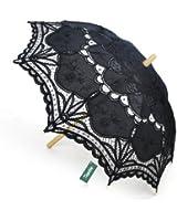TopTie Lace Umbrella Wedding Parasol Costume Accessory Bridal Photograph