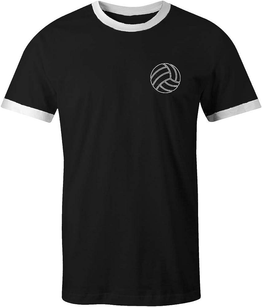 David Beckham 23 Club Style Retro Ringer T-Shirt schwarz//wei/ß